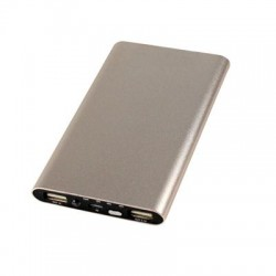PCT Brands - 70686-PG - Digital Treasures ChargeIt. Power Bank - For USB Device, Smartphone - 5000 mAh - 5 V DC Output - 2 x - Gold
