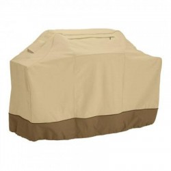 Classic Accessories - 73922 - Classic Accessories Veranda Grill Cover - Supports Grill - Polyester - Pebble, Bark, Earth