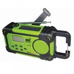 Aervoe - 7415 - SolaDyne Emergency Alert Radio & Flashlight - For Indoor/Outdoor with Child Abduction Emergency (Amber Alert) - FM, AM - 7 Weather - Portable