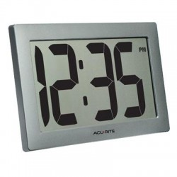 Chaney Instrument - 75102M - AcuRite Digital Clock 9.5 LCD
