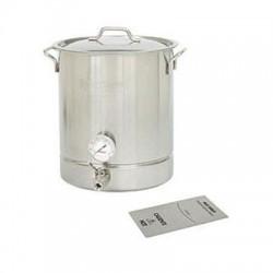 Barbour - 800-440 - 10Gal SS Standrd 4pc Brew Kett