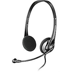 Plantronics - .AUDIO 326 - Plantronics Audio 326 Multimedia Headset - Stereo - Silver - Wired - Over-the-head - Binaural - Semi-open
