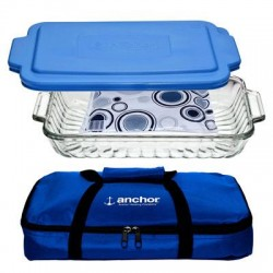 Anchor Hocking - 82258OBL16 - Sculpted Bake Set 3pc