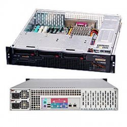 Supermicro - CSE-825MTQ-R700LPB - Supermicro SC825MTQ-R700LPB Chassis - Rack-mountable - Black