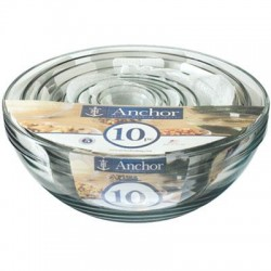 Anchor Hocking - 82665L11 - Mixing Bowl Value Pack 10pc