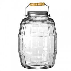 Anchor Hocking - 85679 - Barrel Jar w/ Lid 2.5Gal