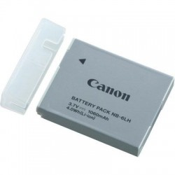 Canon - 8724B001 - Canon Rechargeable Li-ion Battery NB-6LH - 1060 mAh - Lithium Ion (Li-Ion) - 3.7 V DC
