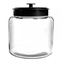 Anchor Hocking - 88904 - Montana Jar w Metal Cvr 1.5Gal