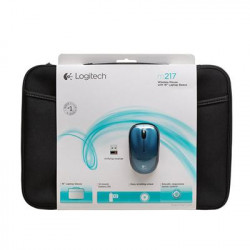 Logitech - 910-002140 - 16'' NB Sleeve+Mouse BLUE