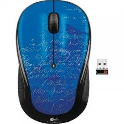 Logitech - 910-002650 - Logitech M325 Laser Wireless Mouse - Optical - Wireless - Radio Frequency - Blue - USB - Scroll Wheel