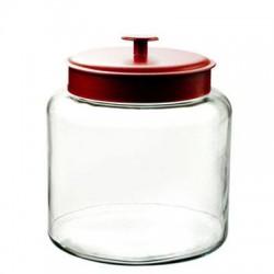 Anchor Hocking - 91022 - Montana Jar w Red Cvr 1.5Gal