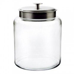 Anchor Hocking - 91523 - Montana Jar w Alum Cover 2Gal