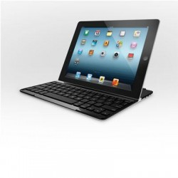 Logitech - 920-004013 - Logitech Keyboard/Cover Case for iPad - Silver - Aluminum