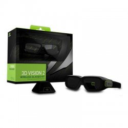 NVIDIA - 942-11431-0007-001 - NVIDIA 3D Vision 2 Wireless Glasses Kit - For Monitor, Notebook, All-in-One PC, Projector, Television - Shutter - 15 ft - Infrared - Battery Rechargeable