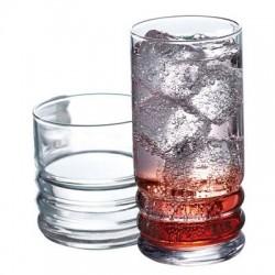 Anchor Hocking - 95116 - Haley Drinkware Set 16pc
