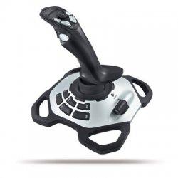 Logitech - 963290-0403 - Logitech Extreme 3D Pro Joystick - Cable - USB - PC, Mac