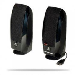Logitech - 980-000028 - Logitech S-150 2.0 Speaker System - 1.2 W RMS - Black - 90 Hz - 20 kHz - USB