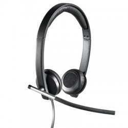 Logitech - 981-000518 - Logitech USB Headset Stereo H650e - Stereo - USB - Wired - 50 Hz - 10 kHz - Over-the-head - Binaural - Supra-aural - Noise Cancelling Microphone