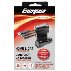 Performance Designed Products - 9920 - Energizer Auto/AC Adapter - 12 V DC Input Voltage - 5 V DC Output Voltage
