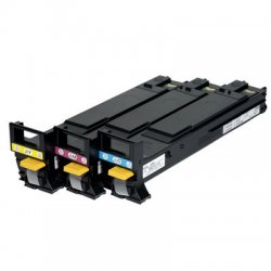 Konica-Minolta - A06VJ33 - Konica Minolta High Capacity Color Toner Cartridges - Laser - 12000 Page - Cyan, Magenta, Yellow