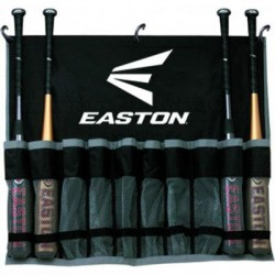 Easton - A163142 - Easton Carrying Case for Baseball Bat - Black - Polyester - Carrying Strap, Handle