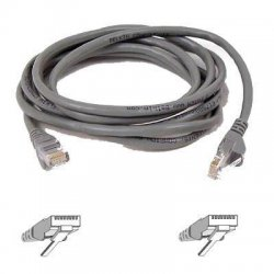 Belkin / Linksys - A3L980-75-S - Belkin High Performance - Patch cable - RJ-45 (M) to RJ-45 (M) - 75 ft - UTP - CAT 6 - molded, snagless - for Omniview SMB 1x16, SMB 1x8, OmniView SMB CAT5 KVM Switch