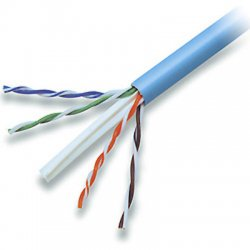 Belkin / Linksys - A7L704-1000-BLU - Belkin FastCAT - Bulk cable - 1000 ft - UTP - CAT 6 - solid - blue - B2B