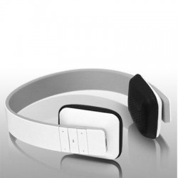 Aluratek - ABH04F - Aluratek ABH04F Bluetooth Wireless Stereo Headphones - Stereo - White - Wireless - Bluetooth - 33 ft - 200 Hz - 20 kHz - Over-the-head - Binaural - Supra-aural
