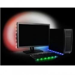 Antec - ACCENT LIGHTING - RGB - Accessory Accent Lighting RGB USB Powered 8 LED Strip Retail