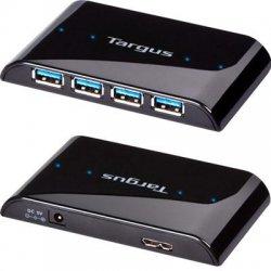 Targus - ACH119US - Targus ACH119US 4-port USB Hub - USB - External - 4 USB Port(s) - 4 USB 3.0 Port(s)