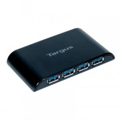 Targus - ACH124US - Targus 4-port USB Hub - USB - External - 4 USB Port(s) - 4 USB 3.0 Port(s)