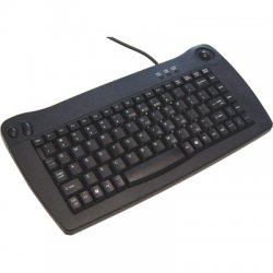 Adesso / ADS Technologies - ACK-5010UB - Adesso ACK-5010UB Mini Keyboard - USB - QWERTY - 89 Keys - Black