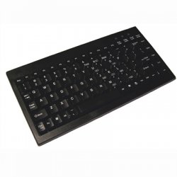 Adesso / ADS Technologies - ACK-595UB - Adesso ACK-595UB Mini Keyboard - USB - QWERTY - 89 Keys - Black