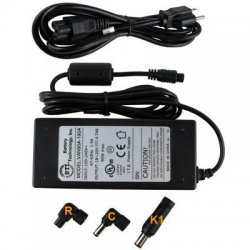 Battery Technology - AC-U90W-DL - BTI 90W AC Adapter - For Notebook - 90W - 4.7A - 19V DC