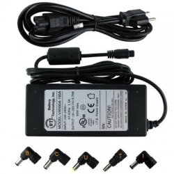 Battery Technology - AC-U90W-GT - BTI 90W AC Adapter - For Notebook - 90W - 4.7A - 19V DC