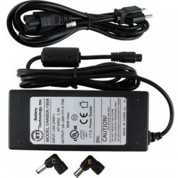 Battery Technology - AC-U90W-PA - BTI 90W AC Adapter - For Notebook - 90W - 5.6A - 16V DC