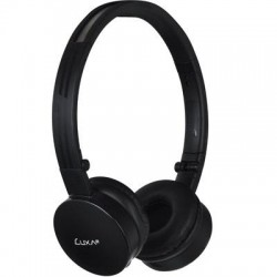 Thermaltake - AD-HDP-PCLLBK-00 - LUXA2 Lavi L On-ear Wireless Headphones - Stereo - Black - Wireless - Bluetooth - 32.8 ft - 32 Ohm - 20 Hz - 20 kHz - Over-the-head - Binaural - Circumaural