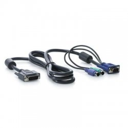 Hewlett Packard (HP) - AF612A - HP KVM Console PS/2 cable - 6ft