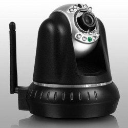 Aluratek - AIPC100F - Aluratek AIPC100F Network Camera - Color - 1280 x 720 - Wireless, Cable - Wi-Fi - Ethernet