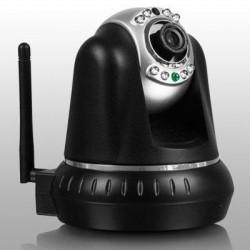 Aluratek - AIPC100F - Aluratek AIPC100F Network Camera - Color - 1280 x 720 - Wireless, Cable - Wi-Fi - Ethernet