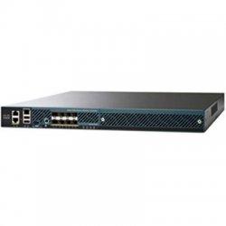 Cisco - AIR-CT5508-100-K9 - Cisco Aironet 5508 Wireless Controller - 1 x 10/100/1000Base-T , 1 x 10/100/1000Base-T , 1 x 10/100/1000Base-T - 8 x SFP (mini-GBIC), 1 x Expansion Slot