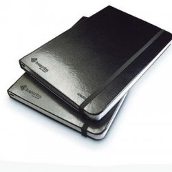 Livescribe - ANA-00004 - Livescribe Black Lined Journal - 100 Sheet - Ruled - 5.5 x 8.25 - 2 / Pack