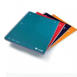 Livescribe - ANA-00017 - Livescribe Single Subject Spiral Notebook - 100 Sheet - College Ruled - Letter 8.5 x 11 - 4 / Pack