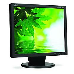 NEC - AS171-BK - NEC Display AccuSync AS171-BK 17 LCD Monitor with VUKUNET free CMS - 5 ms - Adjustable Display Angle - 1280 x 1024 - 16.7 Million Colors - 250 Nit - 1000:1 - DVI - VGA - Black