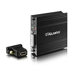 Aluratek - AVH100F - Aluratek VGA to HDMI Signal Convertor - Functions: Signal Conversion, Video Capturing, Video Conversion - 1920 x 1200 - VGA - DVI