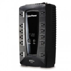 CyberPower - AVRG900LCD - CyberPower Intelligent LCD Series AVRG900LCD 900VA 480W UPS - 900 VA/480 W - 120 V AC - 2 Minute Stand-by Time - Compact - 12 x NEMA 5-15R