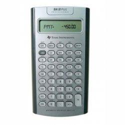 Texas Instruments - IIBAPRO/CLM/4L1/A - Texas Instruments TI BA II Plus Professional Financial Calculator - 10 Digits - LCD - Battery Powered - 1 x 6.3