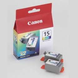 Canon - 8191A003 - Canon BCI-15 Color Ink Cartridge - Inkjet - 2 / Pack
