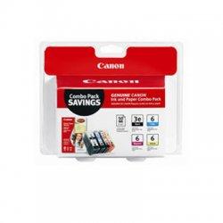 Canon - 4479A292 - Canon Print Cartridge/Paper Kit - Inkjet - Standard Yield - Black, Cyan, Magenta, Yellow - 1 / Pack