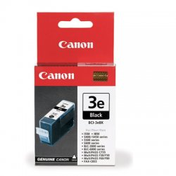 Canon - 4479A003AA - Canon BCI-3eBLK Black Ink Cartridge - Inkjet - 420 Page - Black